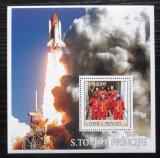 Poštovní známka Svatý Tomáš 2003 Lety do vesmíru Mi# Block 453 Kat 11€