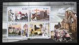 Poštovní známky Svatý Tomáš 2008 Hrady Mi# 3432-35 Kat 12€