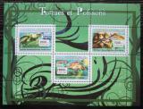 Poštovní známky Guinea 2007 Želvy a ryby Mi# 4674-76 Kat 8€