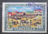 Poštovní známka Venezuela 1967 Plaza Bolívar v Caracasu Mi# 1713