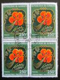Poštovní známky Džibutsko 1978 Sapan nádherný čtyřblok Mi# 224 Kat 5.60€
