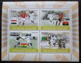 Poštovní známky Togo 2010 Africký pohár ve fotbale Mi# 3679-82 Kat 12€