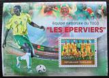 Poštovní známka Togo 2010 Národní fotbalový team Mi# Block 525 Kat 12€