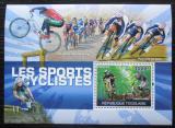 Poštovní známka Togo 2010 Cyklistika Mi# Block 538 Kat 12€
