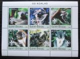Poštovní známky Guinea-Bissau 2003 Koaly Mi# 2351-56 Kat 11€