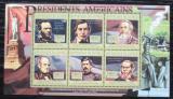 Poštovní známky Guinea 2010 Abraham Lincoln, 16. US prezident Mi# 8006-11 Kat 12€