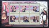 Poštovní známky Guinea 2010 M. Fillmore, 13. US prezident Mi# 7988-93 Kat 12€