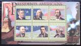 Poštovní známky Guinea 2010 G. Celeveland, 22. US prezident Mi# 8042-47 Kat 12€