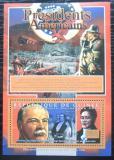 Poštovní známka Guinea 2010 G. Celeveland, 22. US prezident Mi# Bl 1904 Kat 10€