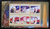Poštovní známky Guinea 2010 G. Washington, 1. US prezident Mi# 7865-70 Kat 12€