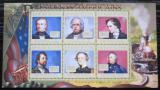 Poštovní známky Guinea 2010 James K. Polk, 11. US prezident Mi# 7925-30 Kat 12€
