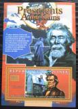 Poštovní známka Guinea 2010 Andrew Johnson, 17. US prezident Mi# Block 1899 Kat 10€