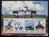Poštovní známky Guinea-Bissau 2015 Concorde Mi# 7735-38 Kat 14€