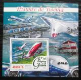 Poštovní známka Guinea 2016 Letadla Boeing Mi# Block 2638 Kat 16€
