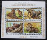 Poštovní známky Niger 2015 Levhart africký Mi# N/N