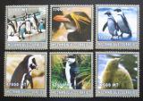 Poštovní známky Mosambik 2002 Tučňáci Mi# 2668-73 Kat 12€