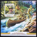 Poštovní známka Guinea-Bissau 2016 Skauti, R. Baden-Powell Mi# Bl 1474 Kat 13.50€