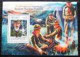 Poštovní známka Mosambik 2016 Skauti, Robert Baden-Powell Mi# Block 1181 Kat 20€