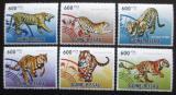 Poštovní známky Guinea-Bissau 2010 Čínský nový rok, rok tygra Mi# 4856-61 Kat 14€