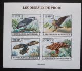 Poštovní známky Burundi 2013 Dravci neperf. Mi# 3243-46 B