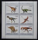 Poštovní známky Komory 2009 Dinosauři Mi# 2170-75 Kat 14€