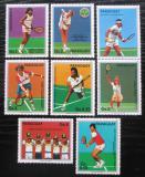 Poštovní známky Paraguay 1986 Tenis s kupónem Mi# 4029-35