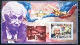 Poštovní známka Guinea 2006 Albert Einstein, letadla Mi# Block 990