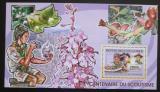 Poštovní známka Guinea 2006 Orchideje, skauting Mi# Block 1027 Kat 7€