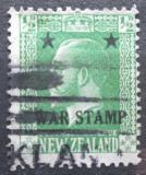 Poštovní známka Nový Zéland 1915 Král Jiří V. přetisk Mi# 147