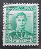 Poštovní známka Nový Zéland 1938 Král Jiří VI. Mi# 236