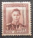 Poštovní známka Nový Zéland 1938 Král Jiří VI. Mi# 240
