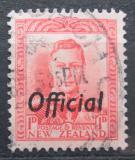 Poštovní známka Nový Zéland 1938 Král Jiří VI. úřední Mi# 54