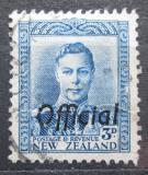 Poštovní známka Nový Zéland 1941 Král Jiří VI. úřední Mi# 58