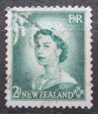 Poštovní známka Nový Zéland 1954 Královna Alžběta II. Mi# 335