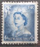 Poštovní známka Nový Zéland 1954 Královna Alžběta II. Mi# 337