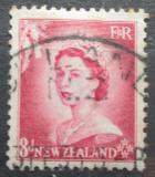 Poštovní známka Nový Zéland 1954 Královna Alžběta II. Mi# 339