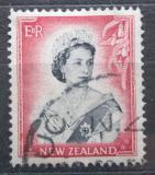 Poštovní známka Nový Zéland 1954 Královna Alžběta II. Mi# 341