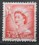 Poštovní známka Nový Zéland 1956 Královna Alžběta II. Mi# 357