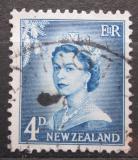 Poštovní známka Nový Zéland 1958 Královna Alžběta II. Mi# 358