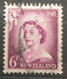 Poštovní známka Nový Zéland 1955 Královna Alžběta II. Mi# 359