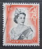 Poštovní známka Nový Zéland 1957 Královna Alžběta II. Mi# 366