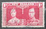 Poštovní známka Nový Zéland 1935 Královský pár Mi# 207