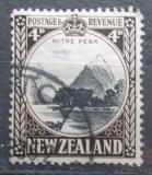 Poštovní známka Nový Zéland 1935 Mitre Peak Mi# 195