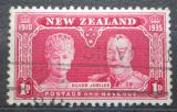 Poštovní známka Nový Zéland 1937 Královský pár Mi# 232