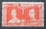 Poštovní známka Nový Zéland 1937 Královský pár Mi# 234