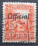 Poštovní známka Nový Zéland 1938 Maorský dům, služební Mi# 43