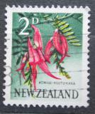 Poštovní známka Nový Zéland 1960 Nádhernice Mi# 394