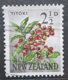 Poštovní známka Nový Zéland 1961 Titoki Mi# 395