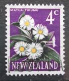 Poštovní známka Nový Zéland 1967 Celmisia coriacea Mi# 461