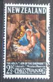 Poštovní známka Nový Zéland 1967 Vánoce, umění, Nicolas Poussin Mi# 477